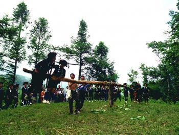 哈尼族六月节