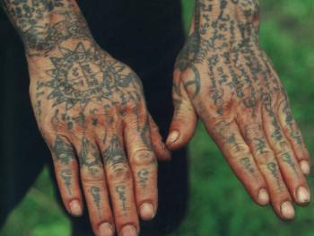 即将消失的傣族传统纹身