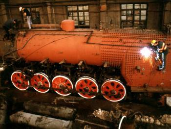 即将消逝的风景——蒸汽机车10