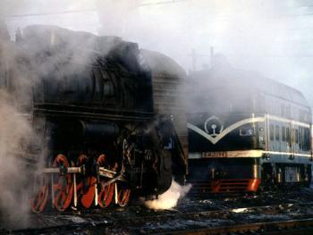 即将消逝的风景——蒸汽机车12