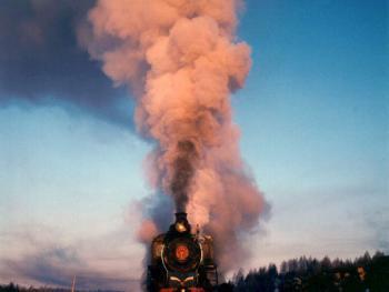 即将消逝的风景——蒸汽机车01