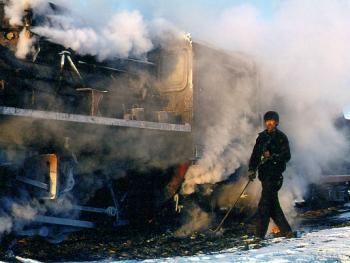 即将消逝的风景——蒸汽机车08