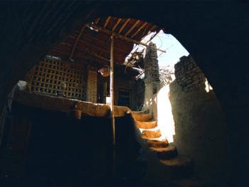 土峪沟民居中的小阁楼