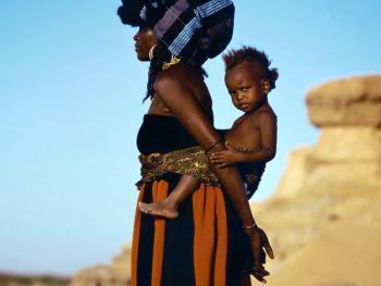 非洲部落的服饰
