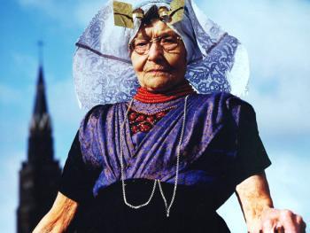 荷兰农家老妇