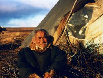 西伯利亚养驯鹿的游牧部落
