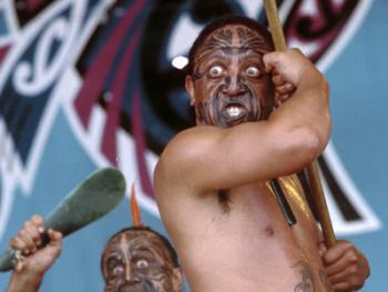 毛利人的表演艺术比赛