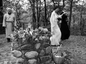 传统的波罗的海婚礼
