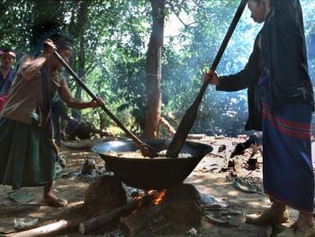 泰缅边境地区的塔拉康部族