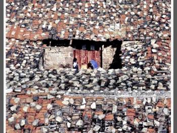 福建平潭岛上的石屋
