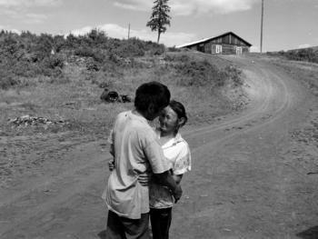 妻子和丈夫。Kuiymba村