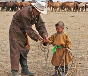 蒙古国的那达慕大会10