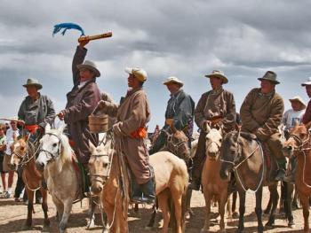 蒙古国的那达慕大会11