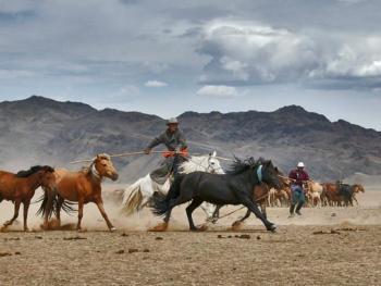 蒙古国的那达慕大会06