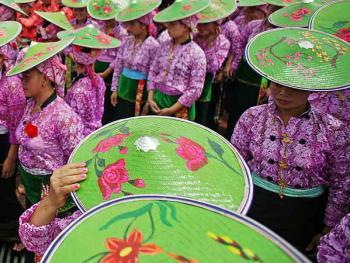 傣族泼水节3