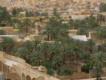 阿尔及利亚姆扎卜山谷的建筑