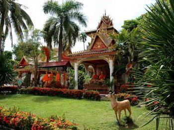 老挝的建筑10万象瓦翁第寺3