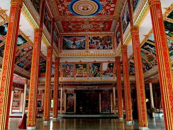 老挝的建筑11万象瓦翁第寺4