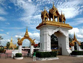 老挝的建筑05万象大王宫1