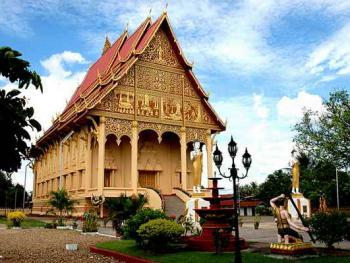 老挝的建筑06万象大王宫2
