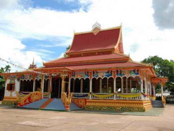 老挝的建筑08万象瓦翁第寺1