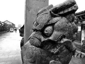 兴城的石狮子