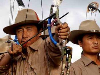 青海藏族民间传统射箭比赛06
