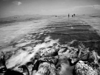 乌尔米耶湖的泥浴03