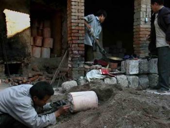 中国乡村青铜器制造04