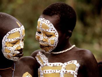 苏尔玛部落的身体艺术10