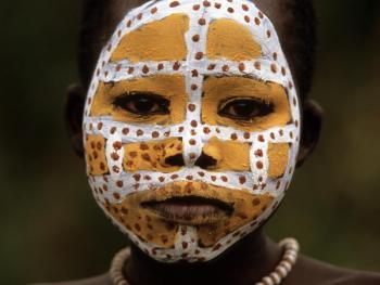 苏尔玛部落的身体艺术01