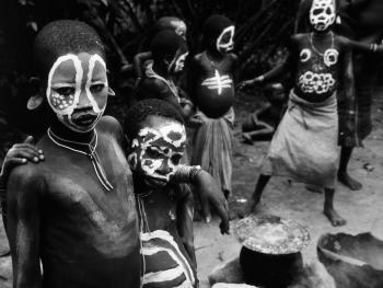 苏尔玛部落的身体艺术04