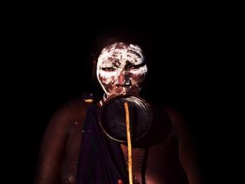 苏尔玛部落的身体艺术08