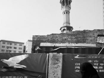 生活在喀什高台民居的穆斯林妇女12