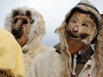 立陶宛狂欢节上的面具02