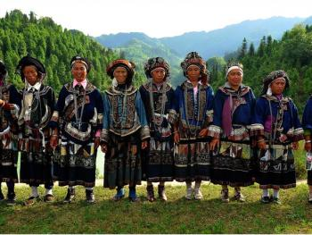 滇桂交界处的彝族人10