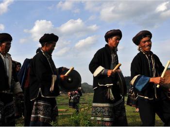 滇桂交界处的彝族人11