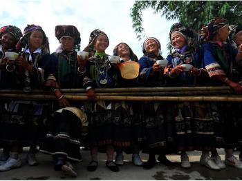滇桂交界处的彝族人12