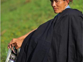 滇桂交界处的彝族人
