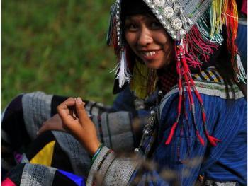 滇桂交界处的彝族人06