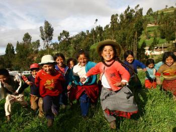秘鲁的孩子