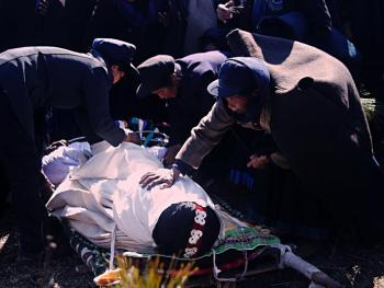 阿都彝人葬礼中的服饰11