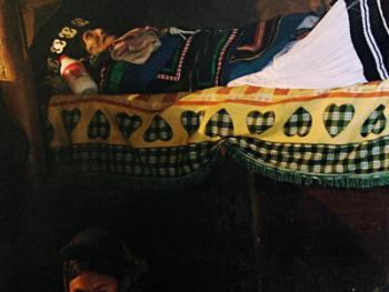 阿都彝人葬礼中的服饰12