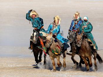 蒙古族传统体育竞技10
