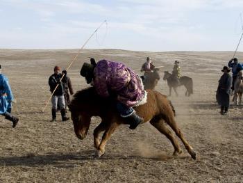 蒙古族传统体育竞技11
