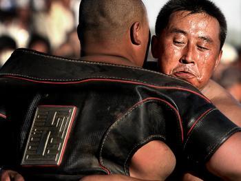 蒙古族传统体育竞技02