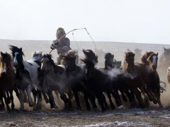 蒙古族传统体育竞技03