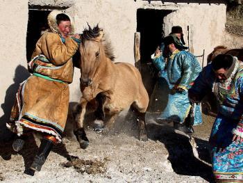 蒙古族传统体育竞技04