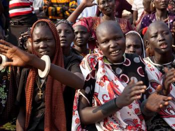 南苏丹传统摔跤07