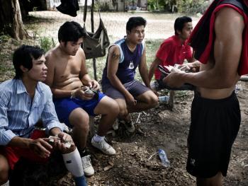 老挝的藤球运动02